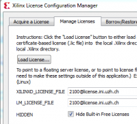 Add Xilinx.lic file
